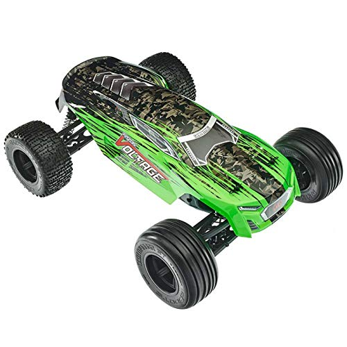 (ARRMA FAZON VOLTAGE MEGA 2WD SRS RC Monster Truck RTR with 2.4GHz Radio | 2 x Li-Ion Battery | Charger | 1:10 Scale (Green/Black))
