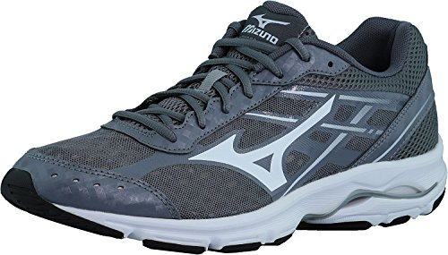 Mizuno Men's Wave Unite 2 Training Shoe,Grey/White,11.5 M US