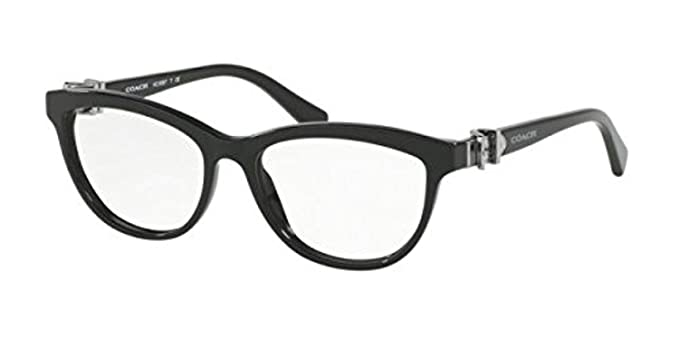 be98d753e7 Coach Women s HC6087 Eyeglasses Black 51mm at Amazon Women s ...