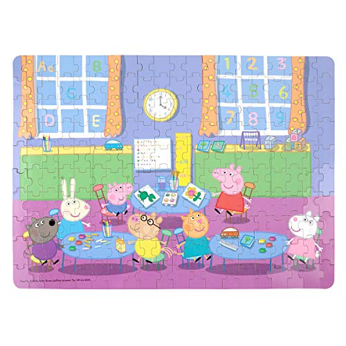 Yale Peppa Pig Kid 200 Piece Jigsaw Puzzle Game for 3-10 Age,Portable Box Pack -