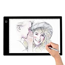 Tracing Light Box, A4 LED Artcraft Tracing Light Pad Light Box For Artists,Drawing, Sketching, Animation, 9.4x14 Inch Light Pad (A4)