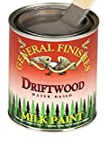 how to distress painted furniture General Finishes QD Milk Paint, 1 quart, Driftwood