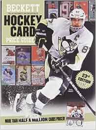 beckett hockey card price guide pdf