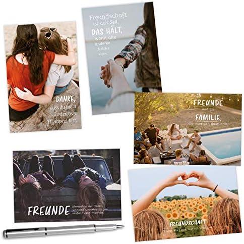 20 Postkarten Set zum Thema GLAUBEN - mit Sprüchen und Bibel-Zitaten: Jede Karte ein christlicher Zitat/Spruch