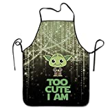 Stylish Shop Star Wars Cute Yoda Baby Onesie Aprons (Set Of 3) Adjustable Height Water Resistant For Women And Men Durable