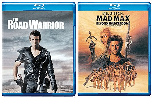 Mad Max The Road Warrior + Beyond Thunderdome Blu Ray Pack Movie Action set Mel Gibson Double Feature