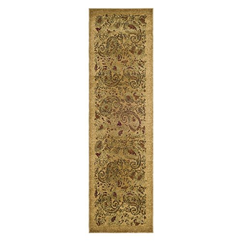 Safavieh Lyndhurst Collection LNH224A Traditional Paisley Beige and Multi Runner (2'3