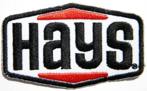 Hays Street Disc Performance Flywheel Logo Sign Sponsor Motorsport Racing Race Biker Car Motorcycle Team Patch Iron on Applique Embroidered T shirt Jacket Costume BY SURAPAN