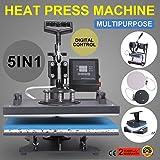 Adoner 5 in1 Heat Press Machine industrial-Quality Digital Sublimation Printer Professional Multifunction Digital
