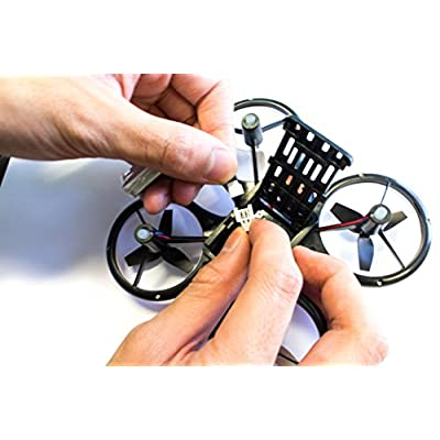 Wonder Chopper EWONDERWORLD Drone for Kids & Beginners Easy to Fly Sky Patroller Mini Quadcopter with LED Lights – Toy RC Plane: Toys & Games
