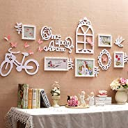 KATLY Foto para pendurar na parede, molduras de colagem para parede, molduras grandes para fotos, conjunto de