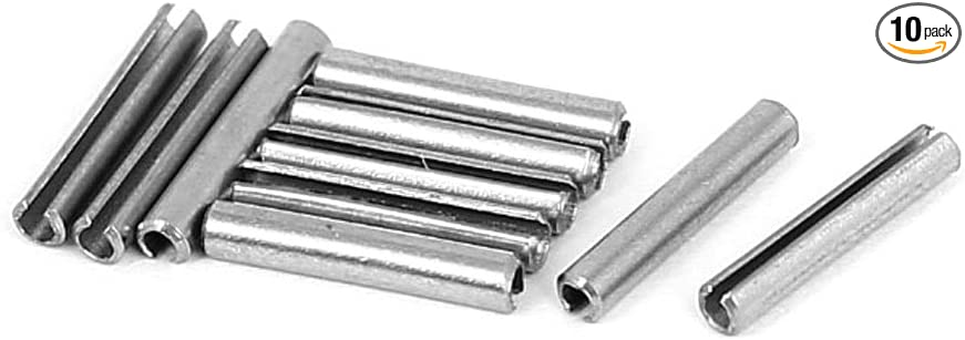 Pack of 100 Spring Pins M4.5 X 30MM