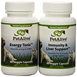PetAlive Energy Tonic and Immunity & Liver Support ComboPack