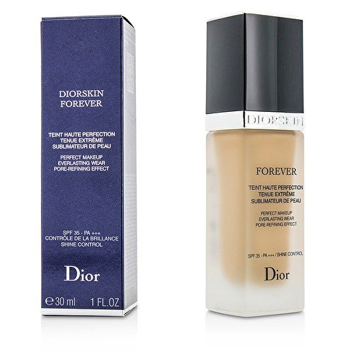 Price comparison product image Christian Dior Diorskin Forever Perfect Makeup Everlasting Wear Pore-Refining Women's SPF 35 Foundation, 010 Ivory, 1 Ounce