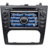 2007-2012 Nissan Altima In-Dash GPS Navigation DVD CD Player Bluetooth A2DP Audio Streaming 7 Inch Touchscreen FM AM Radio USB SD iPod-Ready iPhone-Ready Stereo Deck 2006 2007 2008 2009 2010 2011 2012 Car Automatic A/C AV Receiver