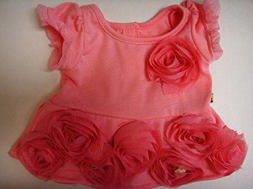 Rose Dress with Rosebud Trim Doll ()