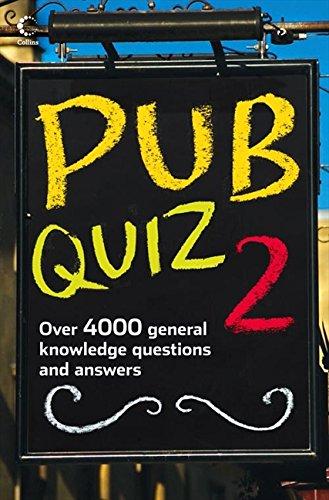 Pub Quiz 2 (Bk. 2)
