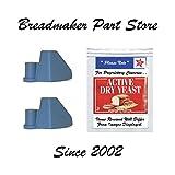 2 TR875 Breadman Pro Bread Machine Paddles TR520 - 2 Pack