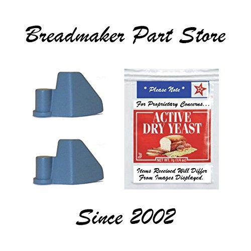 Lot of 2 BREADMAN Bread Machine Paddle Model TR520 TR-520 Bl
