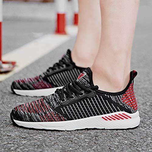 Tutta Stringate per in Quotidiana la Stagione Scarpe Moda comode Casual Mesh da da Usura Sportive Sneakers Scarpe Corsa Piatte Traspirante Jogging 7wnPRAFqx