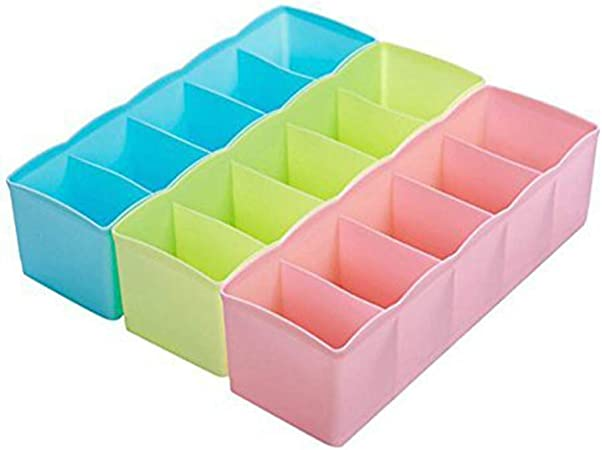 Kentop 3pcs cajón Compartimentos Caja Calcetines Corbatas Ropa ...