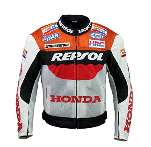 Mens Honda Team Jacket - Honda Repsol Team Textile Jacket (XL,EU56)