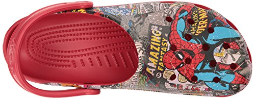 Pictures of Crocs Unisex Classic Spiderman Clog Mule 14 M US 2