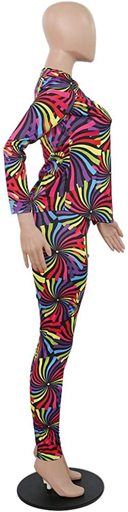 Workout Sets for Women 2 Piece Outfits Tie Dye Floral Pullover Tops and Sweatpants Jogging Suits Sportswear