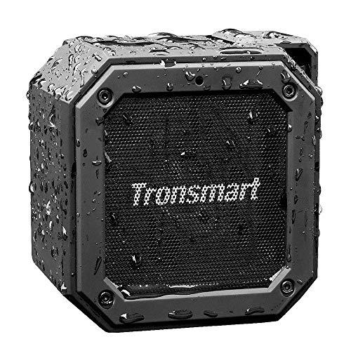Tronsmart Groove Altavoz Exterior Bluetooth Portátiles, 24 Horas de Reproducción, Impermeable IPX7, Extra Bass con…