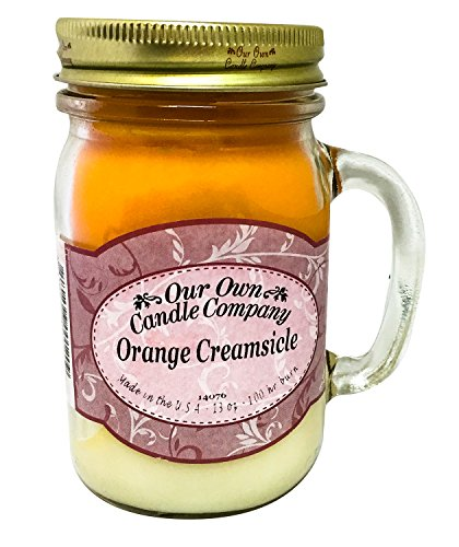 Our Own Candle Company Orange Creamsicle Scented 13
