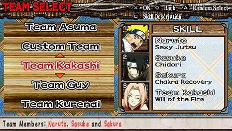 Naruto ultimate ninja heroes - Platinum [Sony PSP ...
