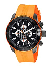 Invicta Men's 18614 S1 Rally Analog Display Japanese Quartz Orange Watch