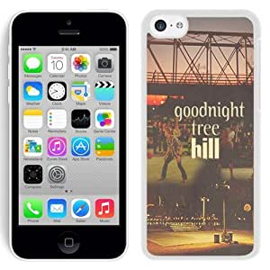 Grace Protactive Iphone 5c Case Design with Goodnight Tree Hill White Cell Phone Case for Iphone 5c