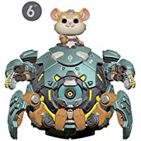 """Funko Collectible Figure Pop! Games, Overwatch, Wrecking Ball, 6"""""""