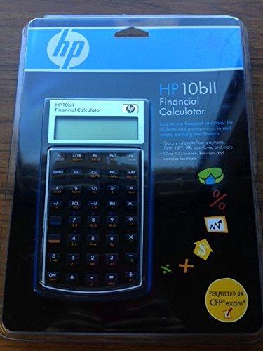 HP 10bll Financial Calculator [並行輸入品] B07GC4K4MB