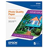 Epson Photo Quality Glossy 8 1/2 x 11 Inch Paper (S041124)