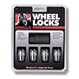 Gorilla Automotive 71631N Acorn Wheel Locks (12mm x 1.50 Thread Size) - Pack of 4