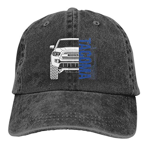 NEWZJCAP -- Toyota Tacoma 2017 2018 2019 Unisex Adjustable Hat Black (58 Fisheye)
