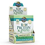 Cheap Garden of Life Greens and Protein Powder – Organic Raw Protein and Greens with Probiotics/Enzymes, Vegan, Gluten-Free, Light Sweet, 10 Count Tray