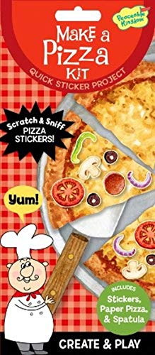 - Peaceable Kingdom Make a Pizza Quick Sticker Kit