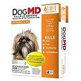 Dog Flea Treatment Collar - Dog MD Flea & Tick Maximum Defense Dog Treatment 4-22 lbs 6 month