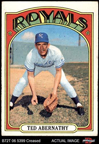 - 1972 Topps # 519 Ted Abernathy Kansas City Royals (Baseball Card) Dean's Cards 3 - VG Royals