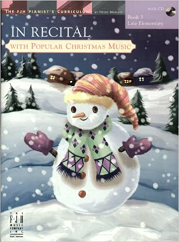 In Recital With Popular Christmas Music Book 3 Various Helen