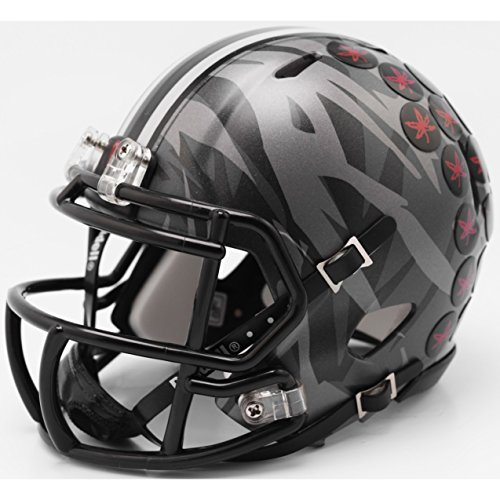 Ohio State Buckeyes 2018 Alternate Camo Riddell Speed Mini Football Helmet (Riddell Mini State Replica)