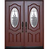 front entry doors with glass. Exterior Front Entry Double House Fiberglass Door M800B 30  x 80 X2 DBL Amazon com Glass Doors Tools Home