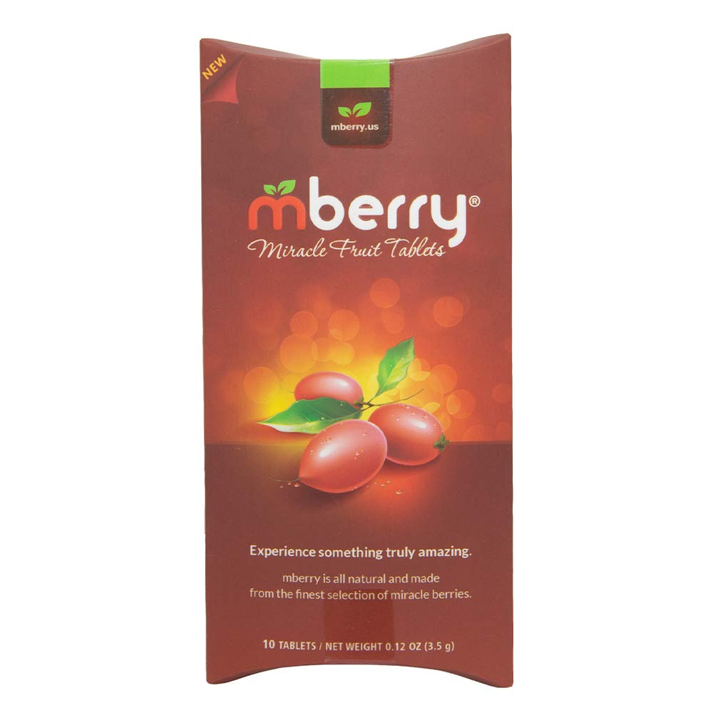 mberry Miracle Fruit Tablets, 10-Count by mberry