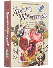 Book Safe with Key Lock, Real Paper Diversion Book Safe with Key, Secret Box/Money Hiding Box/Collection Box-Alice in Wonderland 8.7X6.0X1.8 Inches