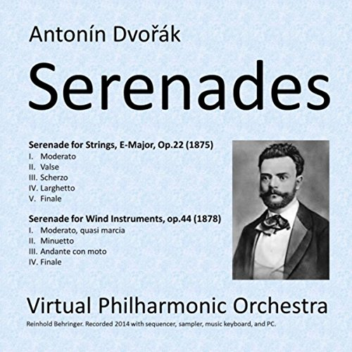 Serenade for Wind Instruments, Cello and Bass in D-Minor, Op. 44: IV. (Orchestra Virtual Instrument)