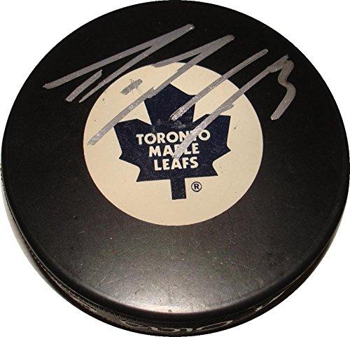 Filip (Ottawa Senators) Kuba Signed Puck - Dion Phaneuf - Autographed NHL Pucks