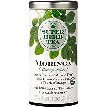 REPUBLIC OF TEA Moringa Superherb Tea Bags, 36 CT